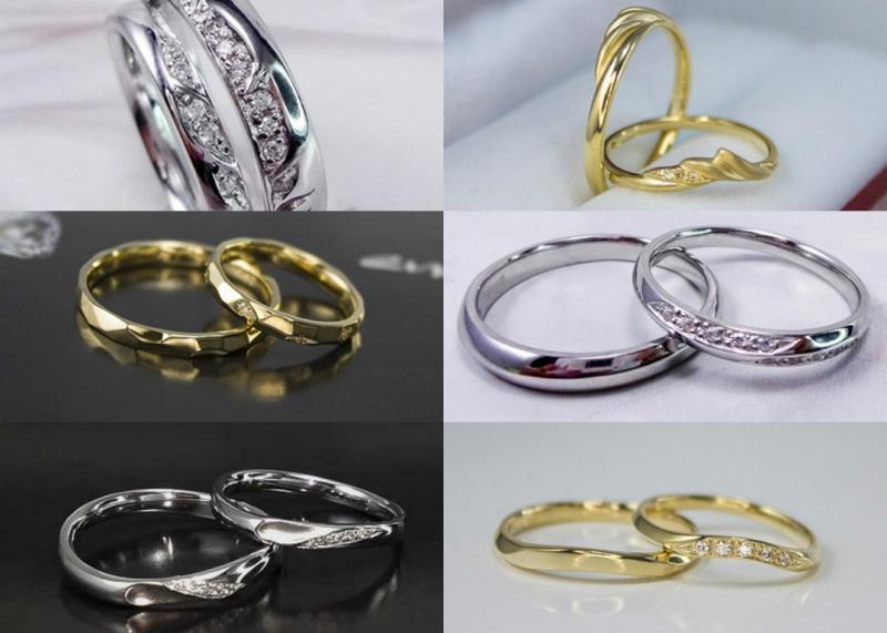Nhẫn cưới Hải Phòng của CALISTA