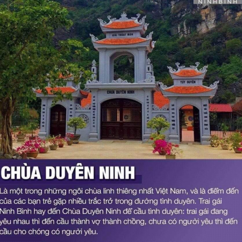 Chùa Duyên Ninh - Ninh Bình