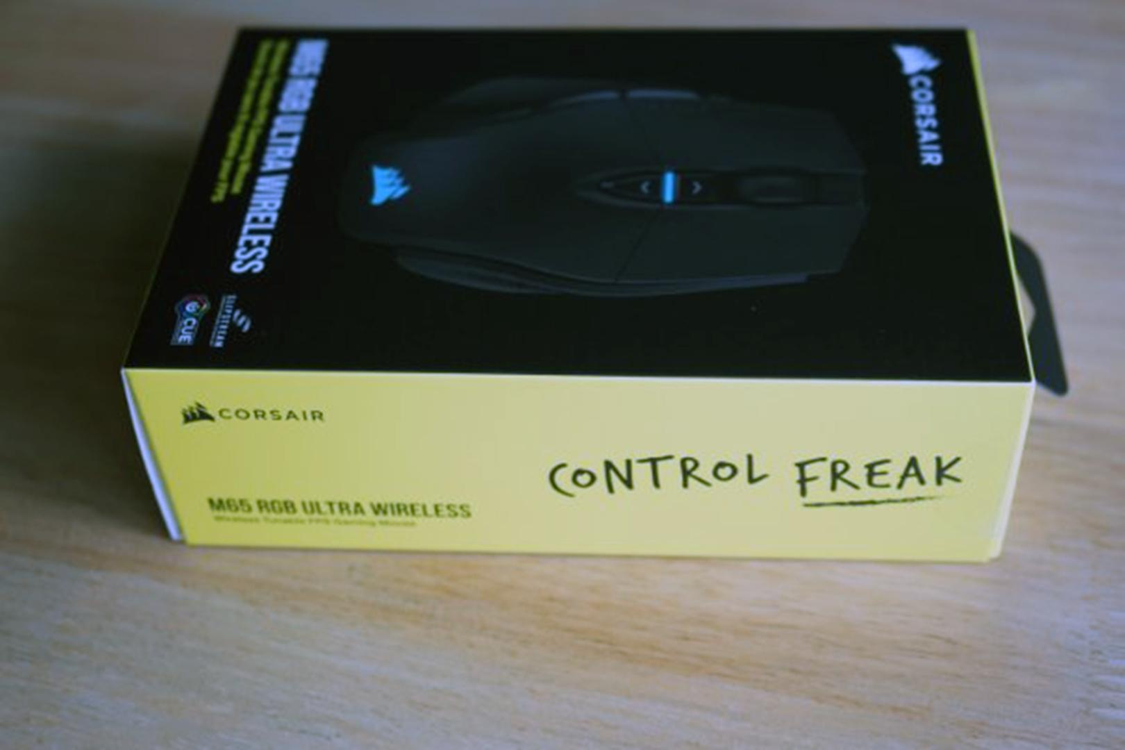 Corsair M65 RGB Ultra Wireless – Biểu tượng chuột game FPS được nâng cấp lên không dây