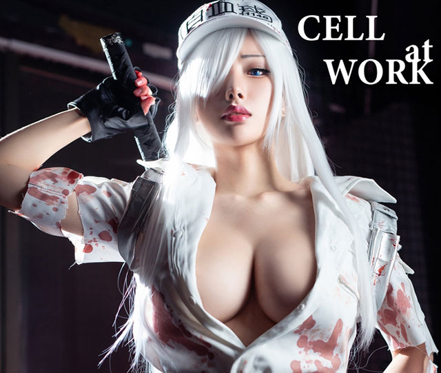 Cosplay nàng bạch cầu có tâm hồn đẹp của Cells at Work!