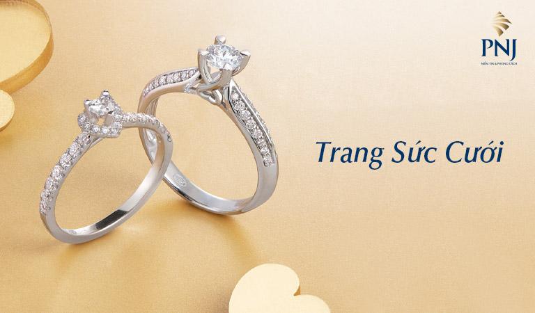 Top 7 Địa chỉ mua nhẫn cưới đẹp và rẻ nhất Hải Phòng