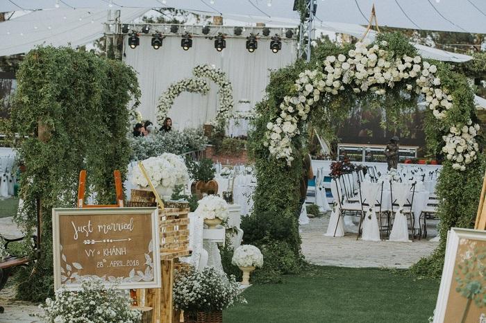 Top 5 Địa điểm tổ chức tiệc cưới ngoài trời đẹp nhất tại Đà Lạt