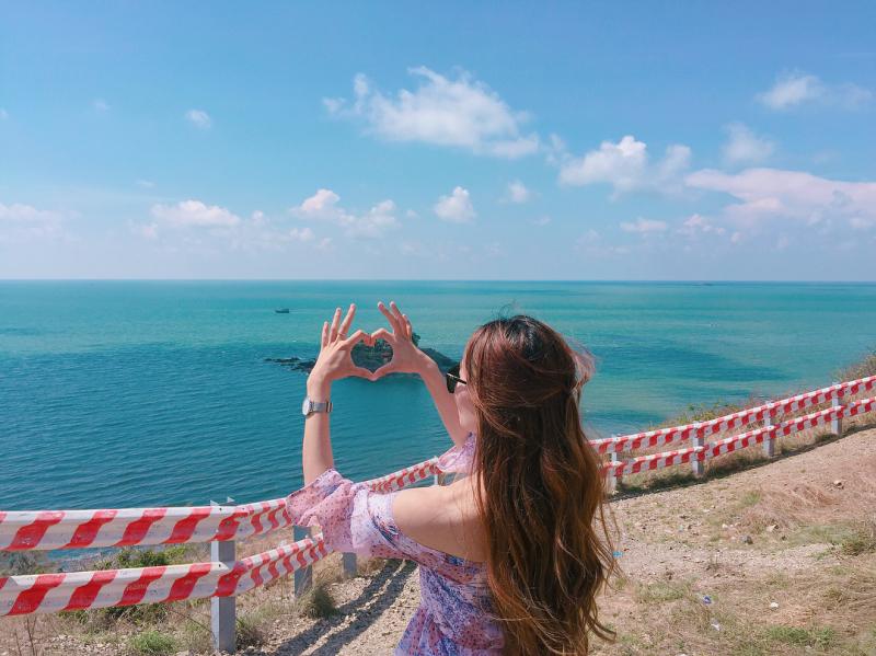 Đồi Con Heo là một trong những địa điểm chụp ảnh tuyệt đẹp ở Vũng Tàu miễn phí