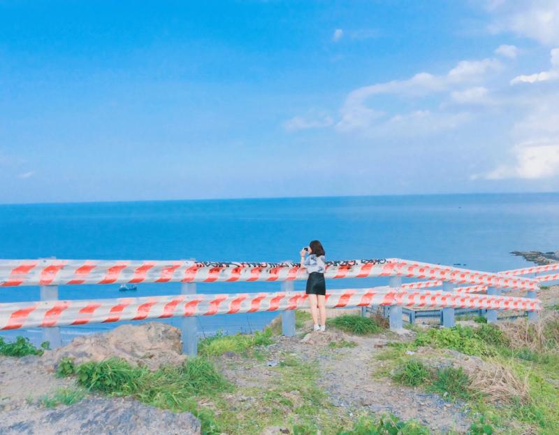 Khu vực đồi Con Heo khiến giới trẻ yêu thích chụp ảnh đứng ngồi không yên