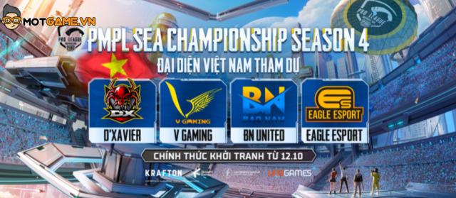 Cầu thủ Đỗ Duy Mạnh đồng hành cùng 4 đội tuyển PUBG Việt Nam tại SEA Game Championship S4