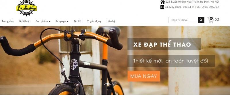 Top 7 Cửa hàng bán xe đạp thể thao uy tín nhất tại Hà Nội