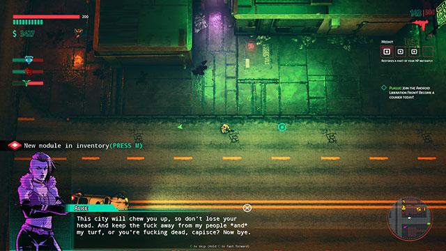 Glitchpunk: GTA phong cách cyberpunk đầy tăm tối