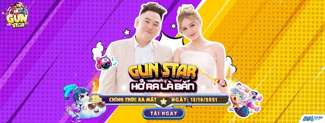"""Siêu phẩm bắn súng tọa độ """"Gun Star"""" chính thức ra mắt, game thủ Việt phấn khích trải nghiệm tính năng sinh tồn cực độc!"""