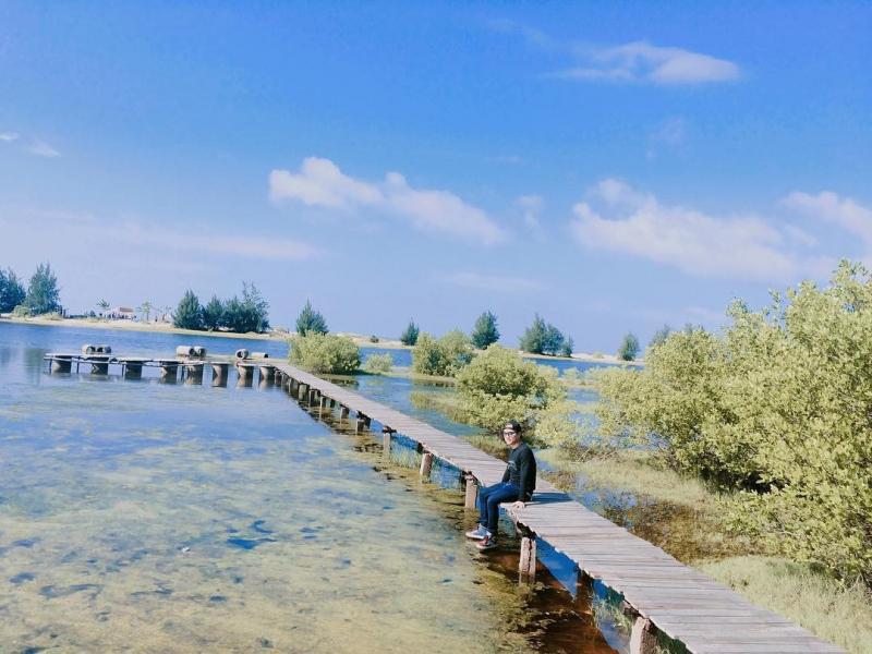 Hồ Cốc là một trong những địa điểm được các bạn trẻ check–in nhiều nhất