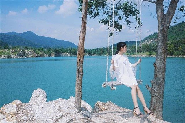 """Hồ Đá Xanh là một trong những điểm chụp hình """"mới toanh"""" tại Vũng Tàu mà ít ai biết đến"""