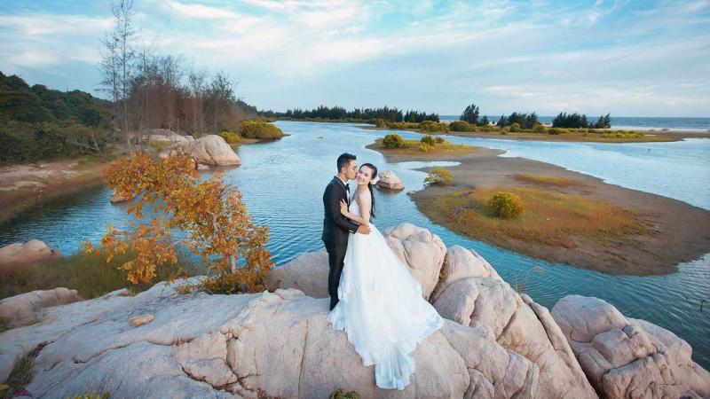 Hồ Tràm là điểm chụp ảnh miễn phí lý tưởng dành cho bất cứ ai