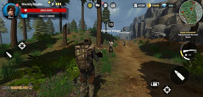 Horror Forest 3: Game bắn súng sinh tồn cùng bạn bè mang phong cách kinh dị