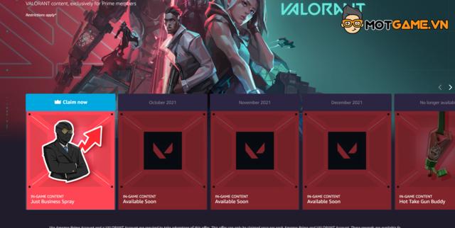 Valorant: Riot Games tặng bình xịt 'Just Business' miễn phí cho game thủ