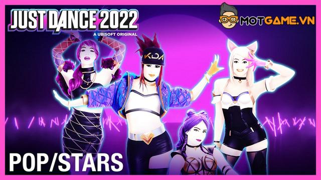 LMHT: Bài hát 'POP/STARS' sẽ xuất hiện trong game Just Dance 2022