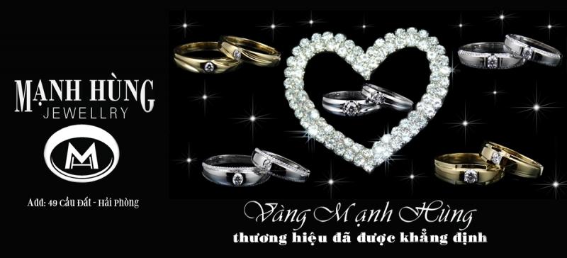 Nhẫn cưới Hải Phòng của Mạnh Hùng