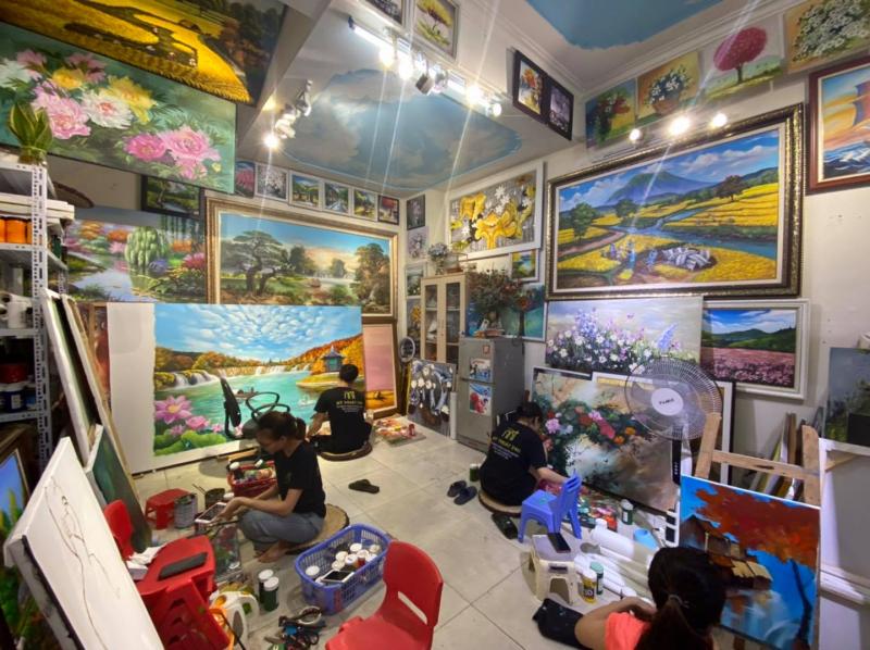 Top 10 Dịch vụ vẽ tranh tường rẻ và đẹp nhất Hà Nội