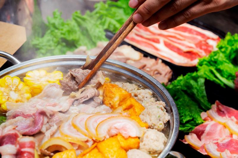 Lẩu riêu cua bắp bò - Nhà hàng Tam Gia Trang