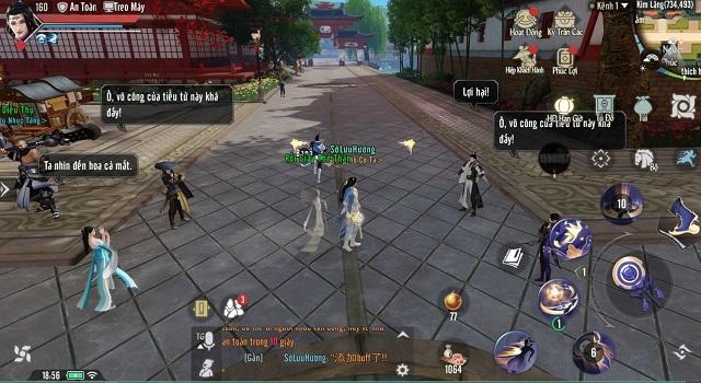 NPC trong Nhất Mộng Giang Hồ VNG sở hữu trí tuệ AI không thua người chơi thật!