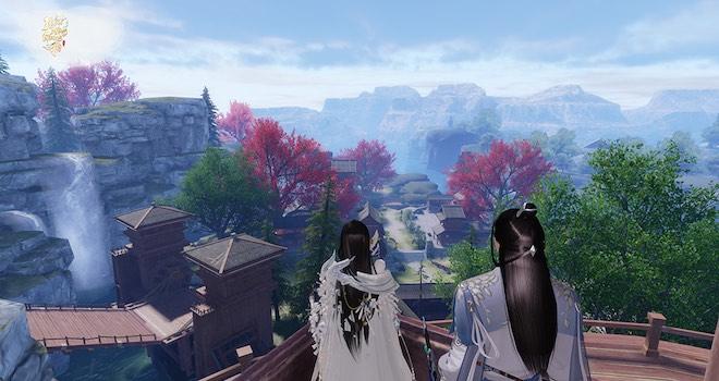 """Chốt ngày """"hành tẩu"""" với game Nhất Mộng Giang Hồ đồ họa siêu đẹp"""