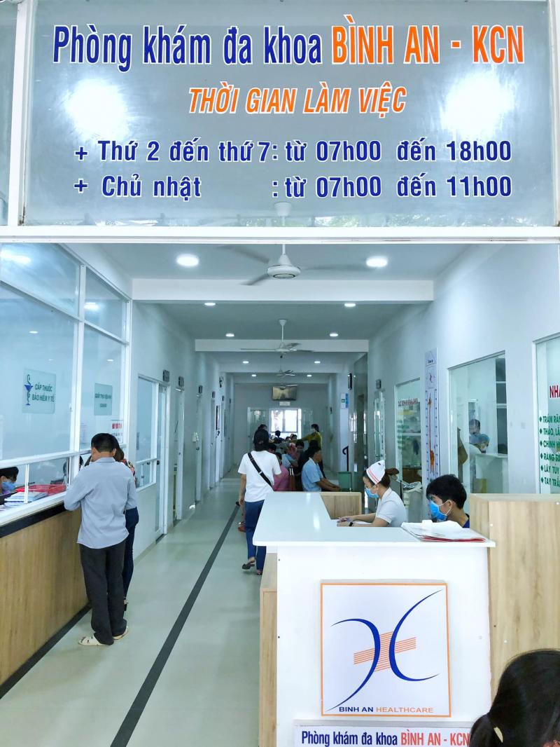 Phòng khám Đa khoa Bình An - KCN