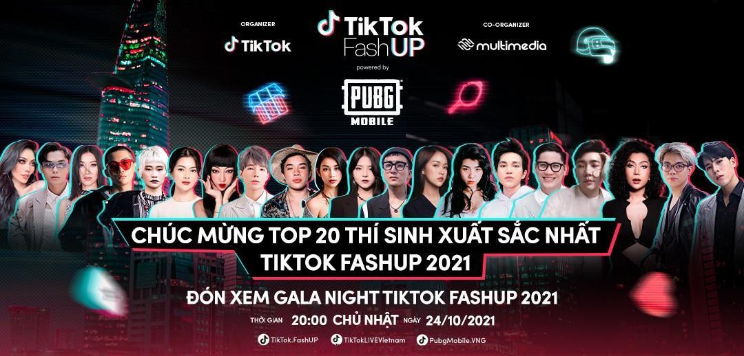 PUBG Mobile ra mắt bộ sưu tập 'Chiến Binh Thời Trang' tại TikTok FashUP Gala Night 2021