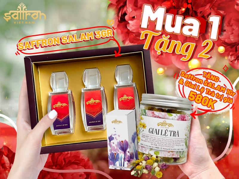 Top 6 Địa chỉ bán nhụy hoa nghệ tây chất lượng nhất ở Hà Nội