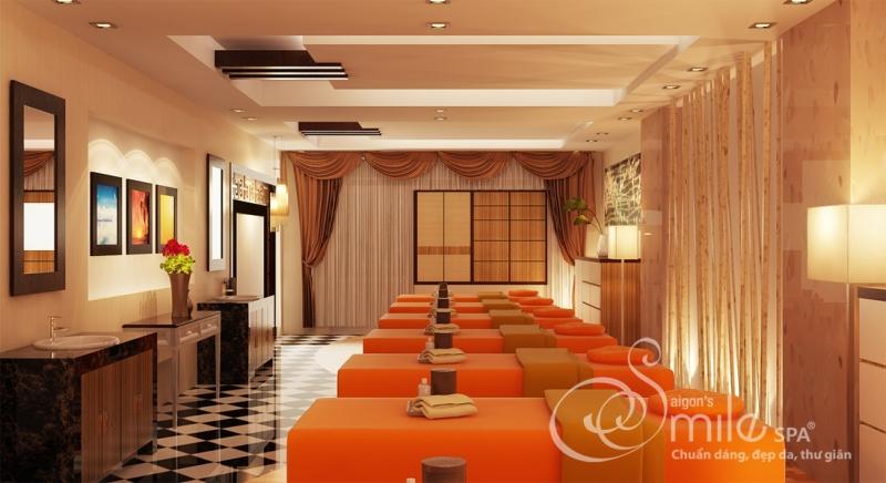 Không gian của Saigon Smile Spa đều được thiết kế riêng một cách tỉ mỉ