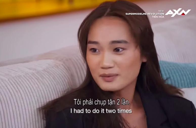 Người mẫu Việt bật khóc vì bị đối thủ 'chơi xấu' trong 'Supermodel Me'