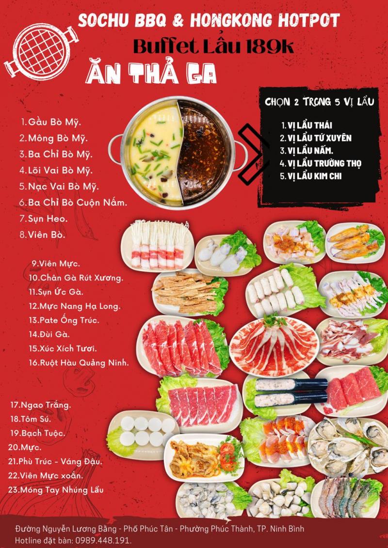 Sochu BBQ & Sashimi