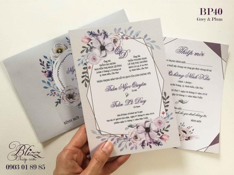 Thiệp cưới độc đáo Blizz
