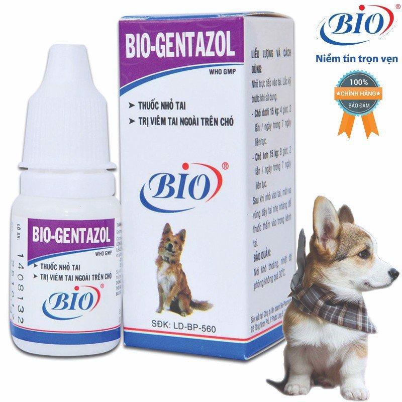 Thuốc nhỏ tai Bio Gentazol
