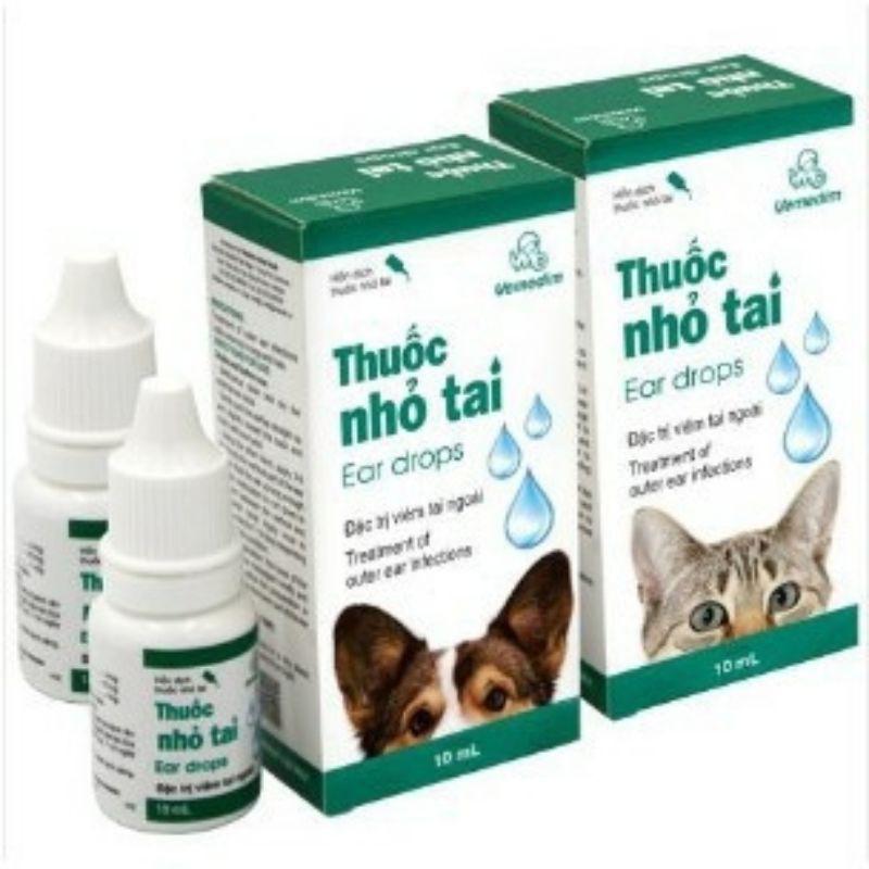 Thuốc nhỏ tai Vemedim – đặc trị viêm tai chó mèo