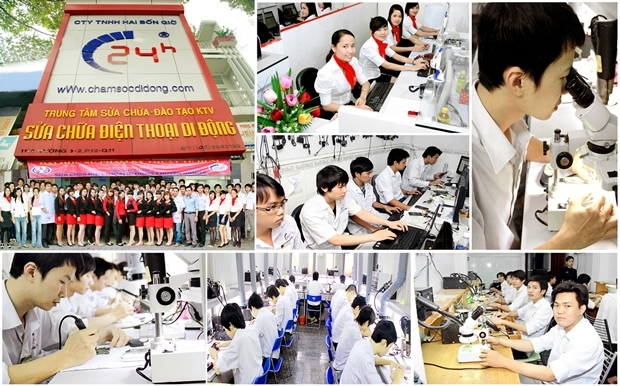 Top 5 Trung tâm sửa chữa điện thoại được nhiều người lựa chọn nhất ở Hà Nội
