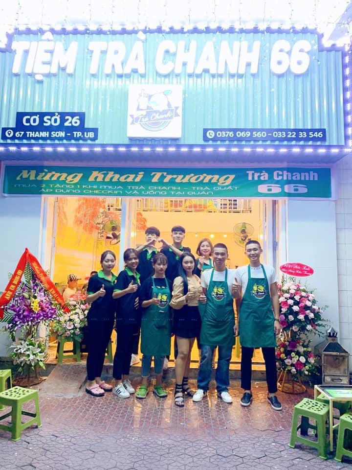 Tiệm trà chanh 66 Uông Bí
