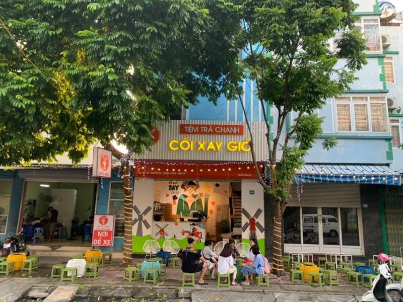 Trà Chanh CỐI XAY GIÓ Uông Bí