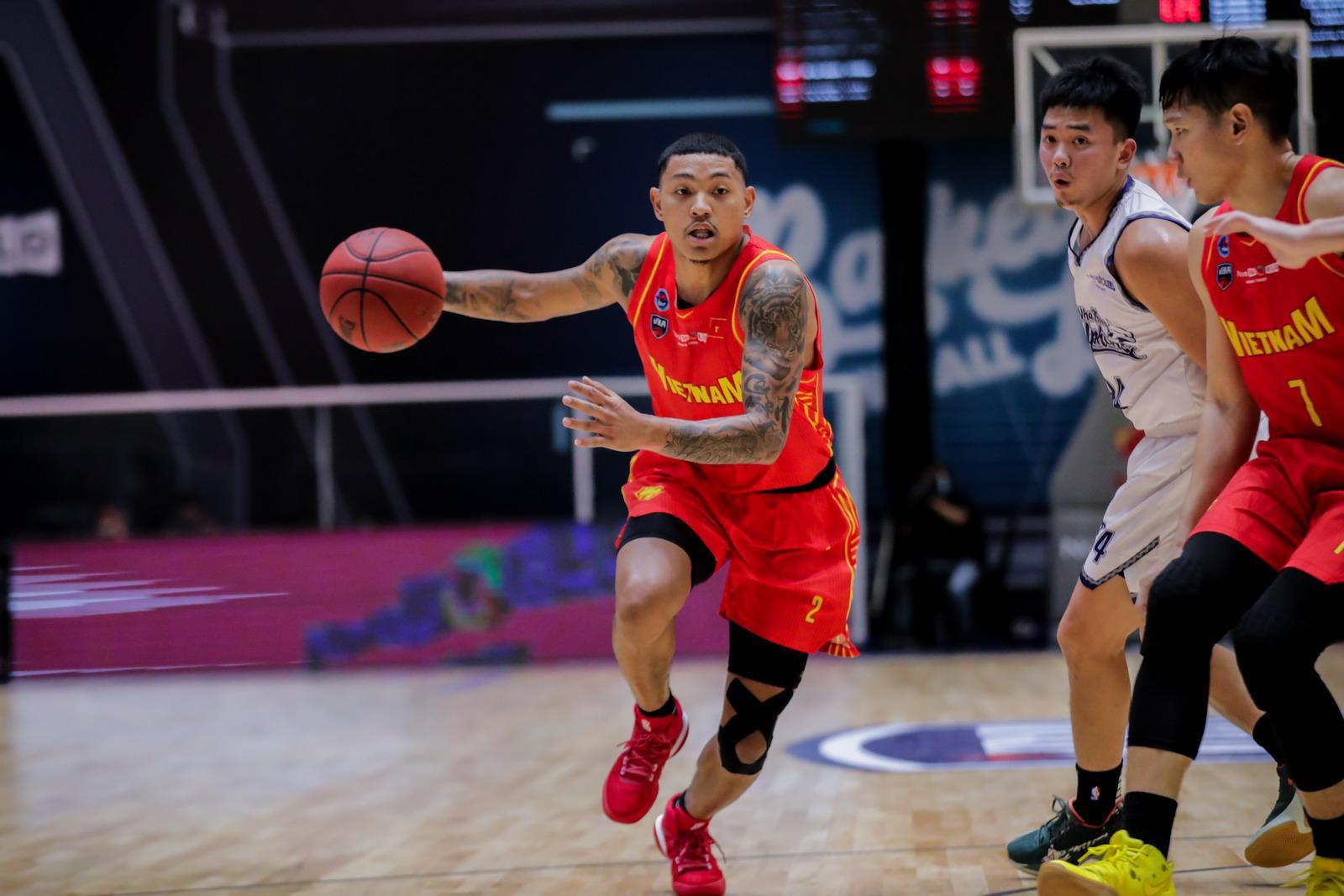 Tuyển bóng rổ Việt Nam có trận thắng thứ 2 tại VBA Premier Bubble Games