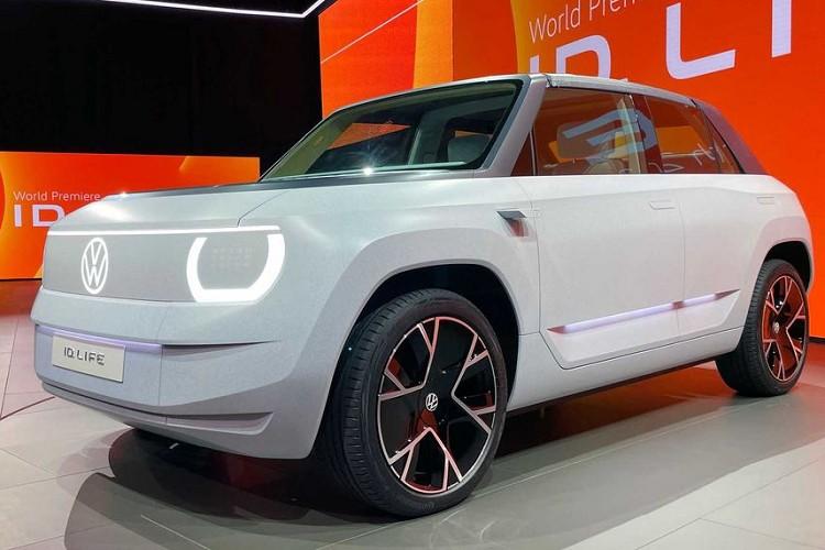 Volkswagen ID. Life sẽ được trang bị cả rạp phim và phòng chơi game