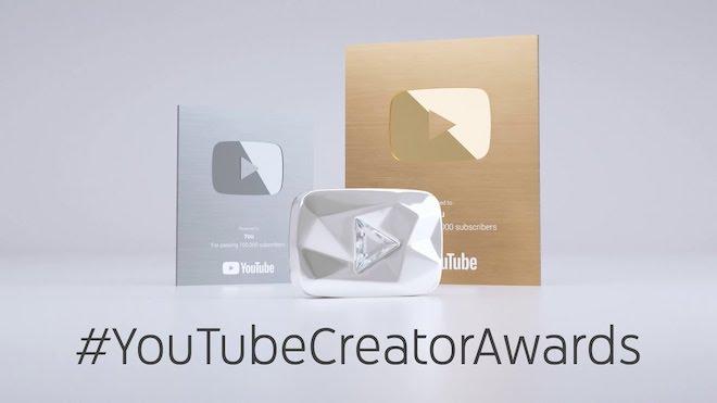 Thêm 3 kênh YouTube triệu người theo dõi, hẹn ngày nhận nút kim cương